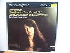 DEUTSCHE GRAMMOPHON 2543 503 TCHAIKOVSKY Piano Concerto MARTHA ARGERICH VINYL LP