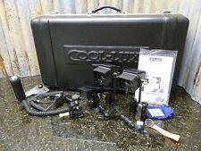 3 Light AC/DC Cool-Lux Mini Cool & MicroLux Video Lighting Kit w/Case Ships Free