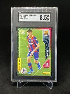 2020-21 Panini Megacracks #430 Pedri FC Barcelona RC Rookie SGC 8.5 NM-Mint+ #2