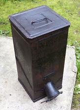 Antique 1900 German coffee dispenser cast RARE August Kind industrial steampunk