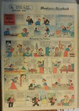 Bringing Up Father Sunday by George McManus from 3/7/1937 Full Page Size!