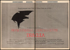 Frank Langella_DRACULA / THE AMITYVILLE HORROR__Orig. 1978 Trade AD_poster__1979