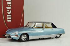 1968 Citroen DS21 DS 21 Chapron Lorraine Blue Metallic+Light Function 1:18 Nore