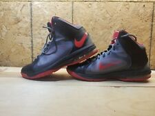 NIKE Air Max FLYWIRE 622041-001 Basketball Shoes Black/Gray/Red - Size 10.5