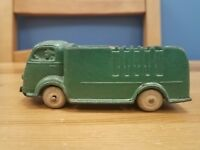 Nice Original Vintage 1940s Auburn Rubber Co. Green Cabover USA Army Truck Toy