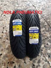 Coppia 110/70-16 52S 150/70-14 61S Michelin City Grip DOT2017/18 Beverly 500/400