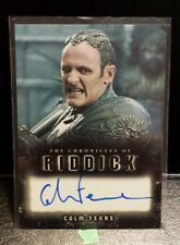 the Chronicles of Riddick , Colm Feore as Lord Marshal auto card