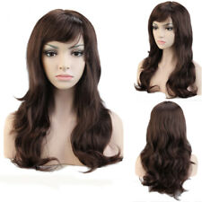 Ladies Women Fancy Dress Cosplay Full Wig Short BOB Long Curly Hair Synthetic US
