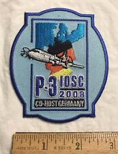 Lockheed Martin P-3 IOSC 2008 International Operators Support Conference Patch