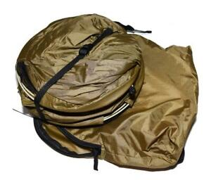 Catoma USMC Coyote Brown Perimeter Insect Guard Pop-Up Bednet One Man Tent