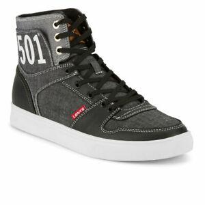 Levi's Mens 501 Mason Hi Chm Denim Fashion Lace-up Hightop Sneaker Shoe