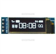 """1Pcs Arduino Iic I2c White Oled Lcd Display Module Avr Pic 3.3V 5V 0.91""""128X32 L"""
