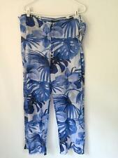 NWT La Blanca by Rod Beattie beach pants women's summer clothes size large NEW