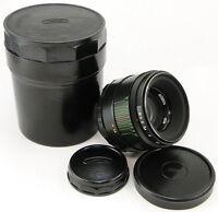⭐NEW⭐ 1983! MMZ-LOMO Russian LOGO HELIOS 44-2 58mm f/2 Lens Screw Mount M42