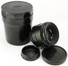 !NEW! 1984! MMZ-LOMO Russian LOGO HELIOS 44-2 58mm f/2 Lens Screw Mount M42 MINT