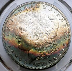 1880-S Morgan Silver Dollar PCGS MS65 CAC Toned