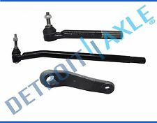 New 3pc Front Suspension Tie Rod + Pitman Arm Set - Ram 4x4 2nd DESIGN