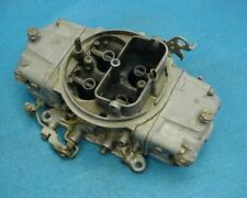 USED 4777 HOLLEY DOUBLE PUMP CARB CARBURETOR 600 CFM  PUMPER CHEVY FORD AMC