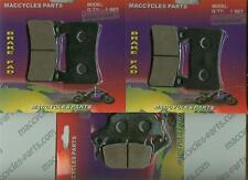 Honda Disc Brake Pads CBR600RR 2003-2004 Front & Rear (3 sets)