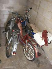 vélomoteur mobylette sans papier 3 dont 1 Motobécane 1 Suzuki avec coffre