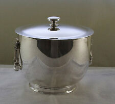 Ice Bucket with Genuine Thermos Double Wall Glass Lining