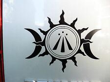 Odin Tripple Horn pagan gods myths stickers//car//van//bumper//window//decal 5113WT
