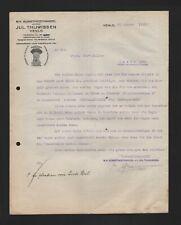 VENLO, Brief 1925, N.V. Kunstmesthandel Jul. Thijwissen