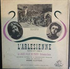 BIZET-L'ARLESIENNE-SUITS 1 & 2-CLUYTENS-ORIGINAL LP BOX SET-ANGEL-ENGLAND-RARE