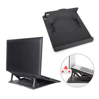 LAPTOP TABLE STAND DESK TRAY COOLING HOLDER ADJUSTABLE 360°ROTATION SWIVEL BASE