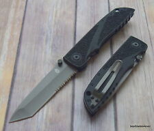 9.4 INCH OVERALL GERBER ICON TACTICAL LINER-LOCK FOLDING KNIFE W/ POCKET CLIP