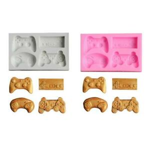 Funny Joystick Shape Silicone Mold DIY Resin Charms Tools Keychain Cake Molds