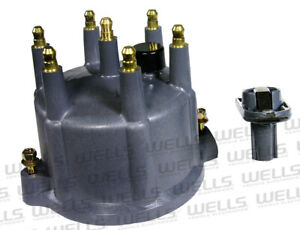 Distributor Cap and Rotor Kit-Premium WVE BY NTK 3D1114A