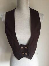Topshop Cotton Blend Waistcoats for Women