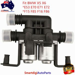 Heater Control Water Valve for BMW X5 X6 E53 E70 F15 F85 E71 E72 F16 F86 xDrive