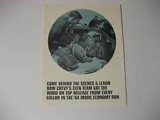 1964 Chevrolet Mobil Economy Run Teen Team Brochure