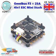 Mini Omnibus F3 OSD Flight Controller + 25A 4in1 ESC Stack BLHeli_S 20x20mm 2-4S