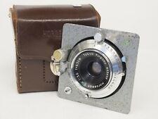 Horseman P.W Tokyo Kogaku 6.5cm F5.6 Lens with Board and Case. Stock No u11313