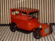 """BANDAI FRICTION DRIVE TIN 1915 FORD """"AUTOMOBILES OF THE WORLD"""" SERIES W/BOX!"""