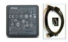 Genuine Nikon 25833 Charging AC Adapter + USB Cable for S4100 S4300 S6100 S6200