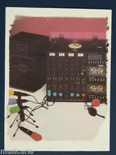 p/ handmade greetings / birthday card AMSTRAD MIXER multitrack , 80s
