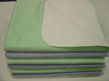 6 Pack New Bed Pads Reusable Waterproof 34x36 Hospital Underpads