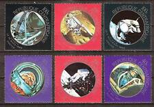 Central Africa # 147-52 Mnh U.S. & Russia In Space