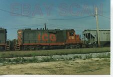 8A782 RP 1980s ILLINOIS CENTRAL GULF RAILROAD ENGINE #8752