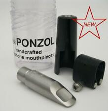 Ponzol Stainless Steel 65 (.065) Soprano Saxophone Mouthpiece NEW