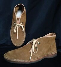 FRYE Bailey Chukka Boots Cognac Suede Crepe Sole Size 9.5M (fits like 8.5) $298