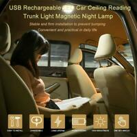 LED Car Reading Interior Roof Lamp Magnetic Night light Universal Rechargeable