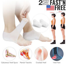 3.5CM Unisex Invisible Height Lifting Increase Socks Heel Pads Silicone Insoles