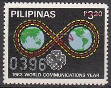 Specimen, Philippines Sc1644 World Communications Year