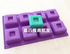 Square Soap Mold Cake Mold Silicone Mould For Candy Chocolate