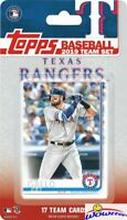 Texas Rangers 2019 Topps Limited Edition 17 Card Team Set-Joey Gallo, Mike Minor